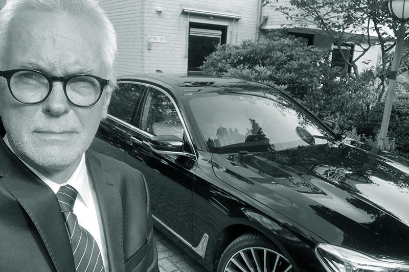 Karel Duran bij DriveMe